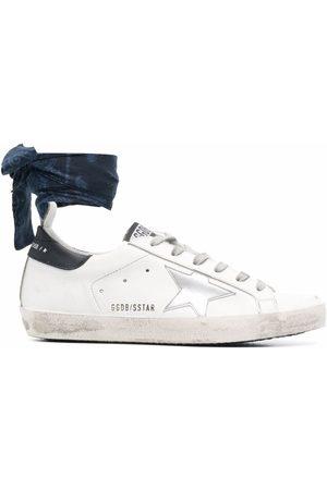 Golden Goose Super-star bandana-detail sneakers