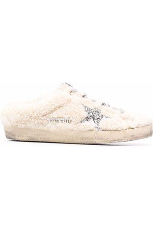 Golden Goose Femme Mules & Sabots - Superstar distressed slippers