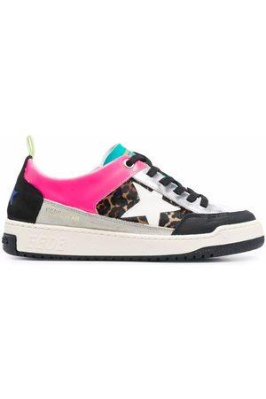 Golden Goose Yeah leopard-print sneakers