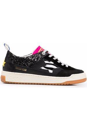 Golden Goose Femme Baskets - Yeah zebra-print sneakers