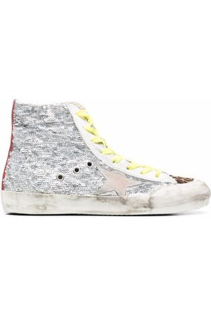 Golden Goose Francy sequin-embellished sneakers