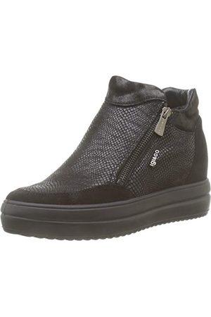 IGI&CO Donna-41537, Baskets Hautes Femme, (Nero 4153700), 36 EU