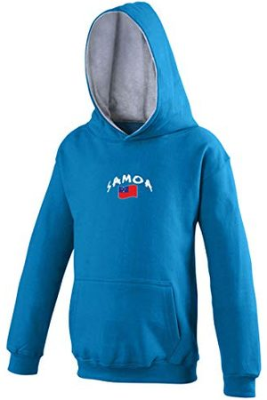 Supportershop Sweat Capuche Rugby Samoa Mixte Enfant, , FR : XL (Taille Fabricant : 9-11 Ans)