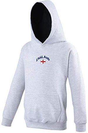 Supportershop Sweat Capuche Rugby Angleterre Mixte Enfant, , FR : 2XL (Taille Fabricant : 12-13 Ans)