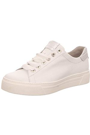 Semler Alexa, Sneakers Basses Femme, (Weiss-Silber 101), 36 1/3 EU