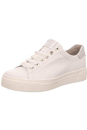 Semler Alexa, Sneakers Basses Femme, (Weiss-Silber 101), 41 1/3 EU