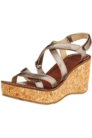 Fly London Gope621fly, Sandales Bout Ouvert Femme, (Bronze 003), 41 EU