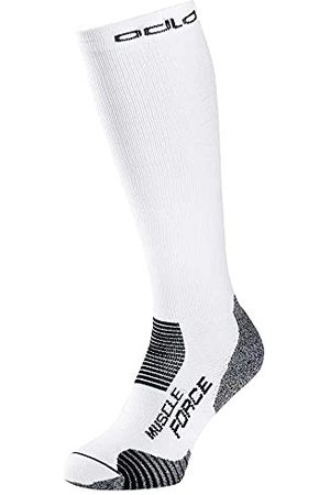 Odlo Chaussettes compressives CERAMICOOL MUSCLE FORCE, white, 45-47