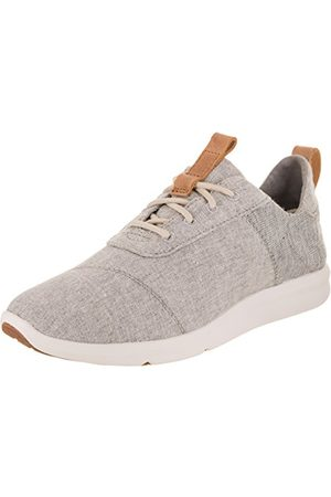 TOMS WOMEN CABRILLO Drizzle Grey Chambray Mix UK7.5
