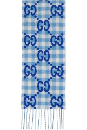 Gucci Fille Écharpes & Foulards - Écharpe pour enfant en laine à carreaux