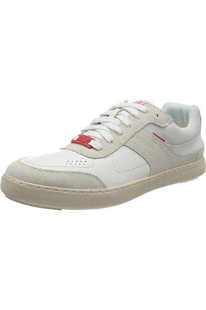 FitFlop Caleb Leather Sneakers, Sneaker Femme, Urbain, 43 EU