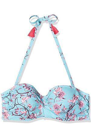Esprit Bilgola Beach Pad.bandeau Bc Bikini Women's, Blue (470), 38 E
