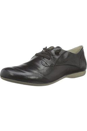 Josef Seibel Fiona 01, Chaussures de ville à lacets femmeNoir (Schwarz), 42 EU