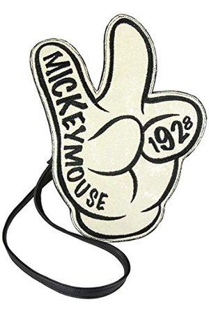 Artesanía Cerdá ArtesaniaSac à bandoulière 3D Mickey, Unisexe, pour Adultes, (5 x 30 x 21 cm)