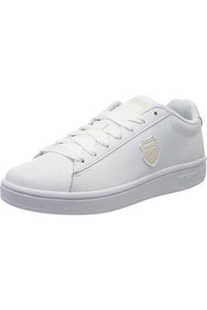 K-Swiss Court Shield, Sneakers Basses Femme, (White/Pearl 104), 35.5 EU