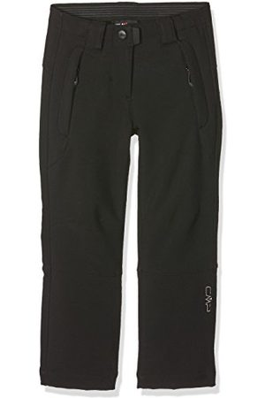 CMP Pantalons Softshell Outdoor Fille, Nero, 128