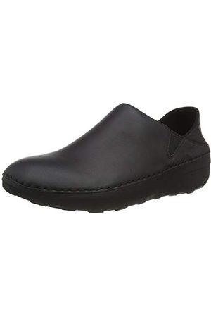 FitFlop Superloafer (leather), Sabots Femme, (All Black 090), 39 EU