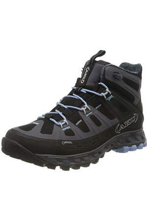 Aku Selvatica Mid GTX WS, Chaussures de randonnée Femme, Schwarz Black Light Blue, 40 EU