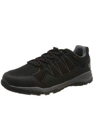 Jack Wolfskin Maze Texapore Low W Wasserdicht, Chaussures de Randonnée Basses Femme, (Black/Grey 6069), 39.5 EU