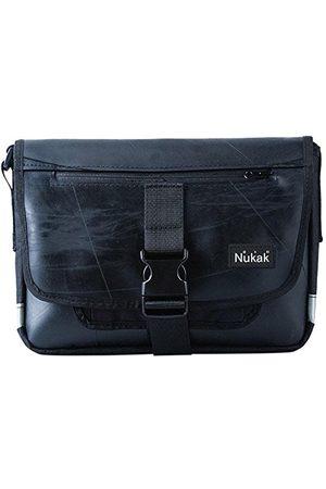 Nukak Frodo M Inn, sac à bandoulière mixte adulte, Negro (Black), 9x26x33 cm (W x H L)