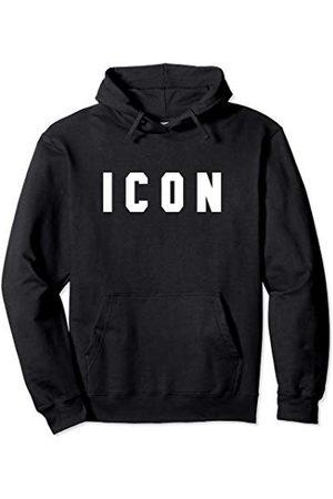 Cool ICON Designs Imple Word Trendy ICON Sweat à Capuche