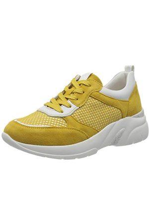 Remonte D4100, Sneakers Basses Femme, (Gelb/Bianco/Gelb 68), 41 EU