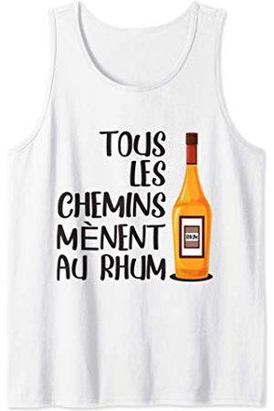 Une bouteille de Rhum Rhum Alcool Cocktails et Mojito | Humour Beauf Apero Débardeur