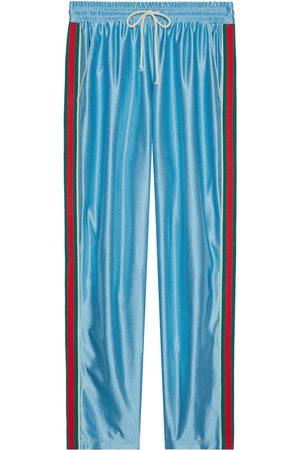 Gucci Pantalon de jogging à rayures Web