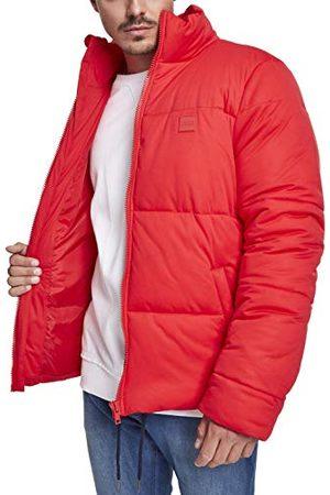 Urban classics Boxy Puffer Jacket Blouson, (Fire Red 00697), Medium Homme