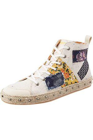 Desigual Shoes_Deia Hight_Patch, Sneaker Femme, Brut, 38 EU