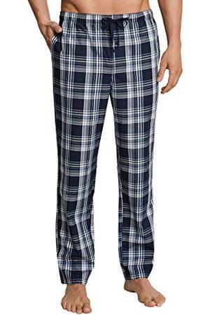 Schiesser Mix & Relax Hose Lang Bas De Pyjama, (Dunkelblau-gem. 835), Large (Taille Fabricant: 052) Homme