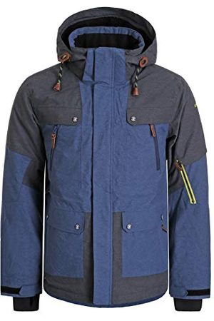 Icepeak CANTON PARKA Homme Blue FR : M (Taille Fabricant : 50)