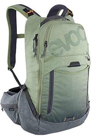Evoc Sac Trail Pro 16 Olive/ L/XL Dos de VTT avec Protection Adulte Unisexe