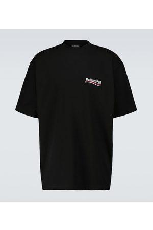 Balenciaga T-shirt oversize Political Campaign