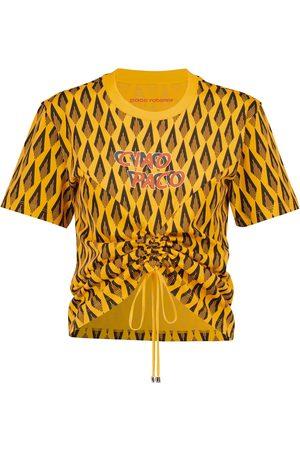 Paco Rabanne T-shirt imprimé en coton