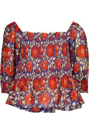 Velvet Top Corryn imprimé en coton