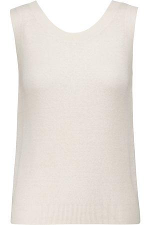 The Row Femme Tops & T-shirts - Top Cervia en lin et cachemire
