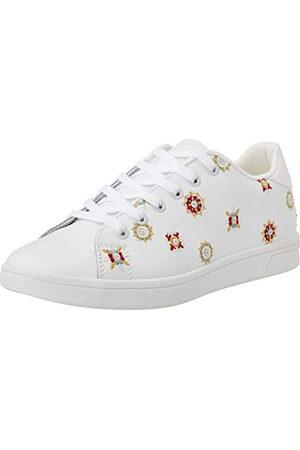 Desigual Shoes_Cosmic_Juliette, Sneakers Woman Femme, White, 40 EU