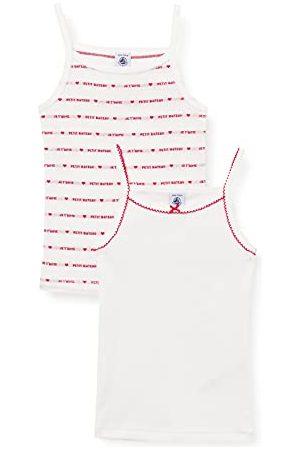 Petit Bateau A00MG00 Tee-ShirtLot de 2Fille - 10 ans