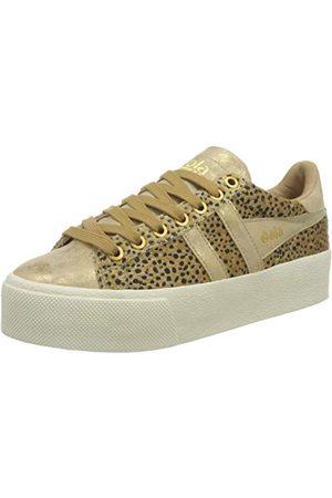 Gola Orchid Platform Savanna, Sneaker Femme, Tan/Gold, 38 EU