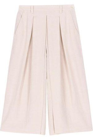 MOMONÍ Femme Pantalons - Pantalon Cinzano en lin viscose