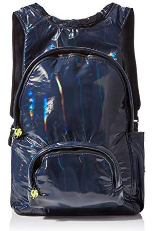 Morikukko Hooded Backpack Halogen Bluemixte adulteSacs à dosBleu (Halogene Blue)33x8x40 Centimeters (W x H x L)