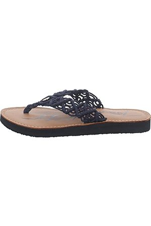 Tommy Hilfiger TH Faded Leather Footbed Sandal, Plate Femme, Monica 19d, 37 EU