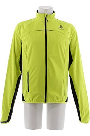Odlo Zeroweight Blouson Homme, Safety Yellow/ , FR : M (Taille Fabricant : M)