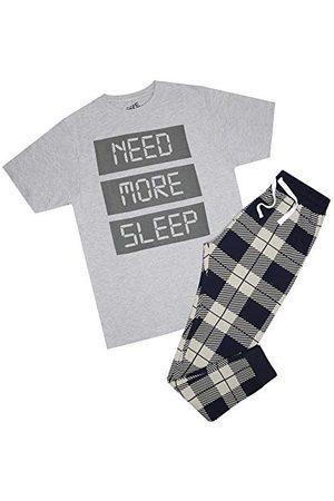 GAME ON Need More Sleep Pyjama Set Ensemble de Pijama, , M Homme