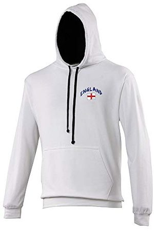 Supportershop Sweat Capuche Rugby Angleterre Mixte Adulte, , FR : L (Taille Fabricant : L)