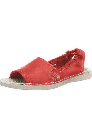 softinos Tee430sof, Sandales Bout Ouvert Femme (Red 002)39 EU