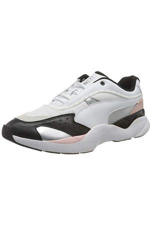 PUMA Lia FS WN s, Baskets Femme, White Black, 36 EU