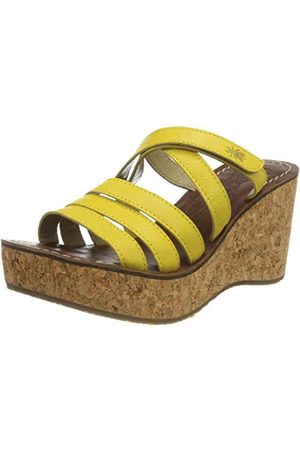 Fly London Gove620fly, Mules Femme, (Bright Yellow 004), 41 EU