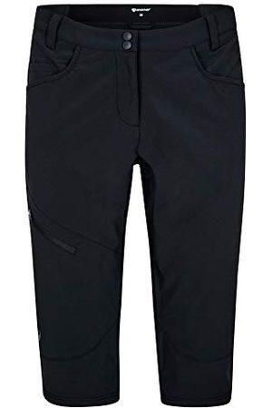 Ziener Short de Cyclisme pour Femme avec Pantalon intérieur – VTT/Plein air/Loisirs – Respirant | séchage Rapide | rembourré, Longueur 3/4 | Nioba X-Function, Femme, 219125, , 42